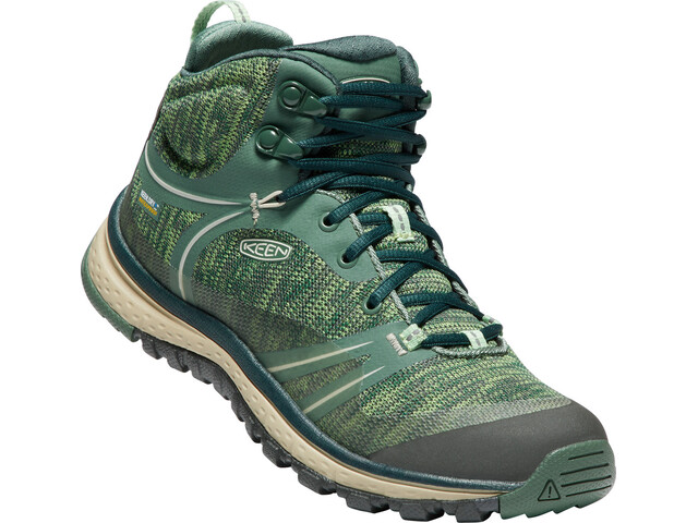 Keen Terradora WP Mid Shoes Damen duck green/quiet green